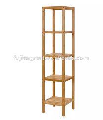 100 bambus badezimmer regal 5 tier multifunktion regal regal buy 100 bambus bad regal 5 tier multifunktionale lagerung rack regal 5 tiers rack