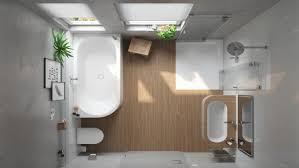 komfortabel und barrierefrei im badezimmer