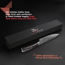 couteau cuisine haut de gamme 6 pouces chef couteau de cuisine damas couteaux japonais haut de