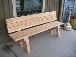 Outstanding Best 25 Outdoor Wooden Benches Ideas On Pinterest Wood Bench Intended For Popular