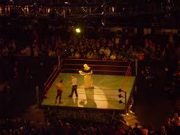 Wwe Goldust Curtain Call by Raw In Buffalo 5 4 09 Boredwrestlingfan Com