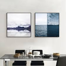 The Most Beautiful Color In Natur Azure Sea Melting Into Ocean Canvas Painting Aesthetic Wall