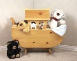 19 w2358 noahs ark cradle toy box woodworking plan