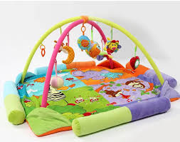 2018 120 120 Cm Big Size Colorful Twins Baby Play Mat Game Mat