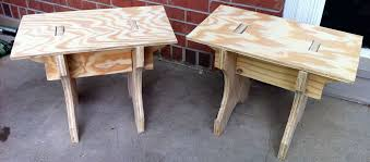 camp furniture for pennsic war woodworking bench camp table