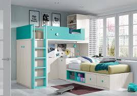 chambre avec lit superposé lit superposé pour chambre enfant avec bureau amovible chambres