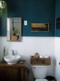 image result for petrol bathroom dunkelblaues badezimmer