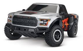 100 Ford Monster Truck Traxxas 2017 Raptor RTR Slash 110 2WD NewSunRacing