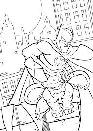 Batman And Gargoyle Batman25 Color Online Print