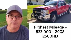 100 High Mileage Trucks Top 5 That Last 400000 Miles YouTube