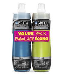 Brita Water Filter Faucet Walmart by Brita 2 Pack Sport Bottles Walmart Canada
