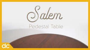 Amish Salem Pedestal Table (Brown Maple Dining Furniture) - YouTube Tucson Amish Maple Round Table With 4 Chairs Hom Fniture Qw Bayfield Plank Rustic 6pc Ding Set Quality Woods Monroe Room In 2019 Cabinfield Marietta Dock86 Sets Fair Sherita Parsons Chair From Dutchcrafters Simply Aspen 7 Piece Mission Trestle And Inspirational Direct Curries Fnituretraverse City Mi