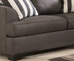 Ashley Levon Charcoal Sofa Sleeper by Levon Charcoal Pull Out Queen Sofa Sleeper By Ashley