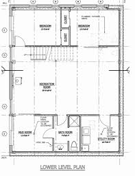 Pole Barn with Living Quarters Floor Plans Elegant House Plan Barn
