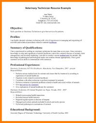 Vet Assistant Resumevet Tech Resume Samples 15 Veterinarian Sample Veterinary Examples On The Job Trainee