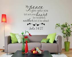 Scripture Wall Decal Bible Verse Christian