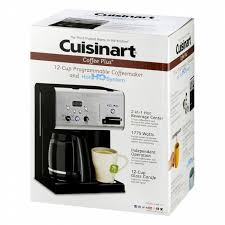 Cuisinart Coffee Plus CHW 12 Cup Programmable Coffeemaker With Hot Water System
