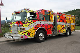Portraits Of Hope Fire Trucks Help Spread The Word