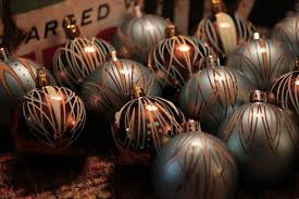 Ebay Christmas Tree Decorations by Blue And Brown Christmas Tree Decorations