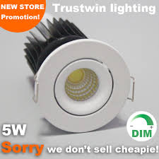 10 Pieces Foyer Recessed Micro Miniature Small Adjustable Outdoor Ceiling Mini 5W LED Downlight COB Dimmable