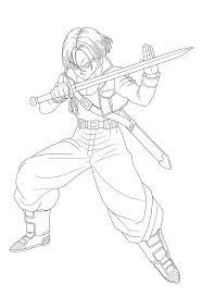 Goku Ssj4 Drawing New Trunks Drawing Ubisafe Wikiprestashop