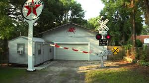 Railroad Crossing Gate - YouTube Huge Freight Train Gets Inside A Backyard Muscle Cars Zone Carolwood Pacific And Other Railroads Imageering Disney Astonishing Private Model Railroad In German Youtube S L Shortline Youtube Ideas Grizzly Flats Railroad Nthe Emma Nevada Locomotive Passenger Railroad 7 14 Zoll Gartenbahn Large Scale Wwwgpdtoytrainmuseumcom Riverside Mans Personal Set Of Mini Trains On Track For Memorial Shandon By Diamond Car Works Hydraulic Locomotive Build Tips My Centralia Garden Farm Outdoors Pinterest Gardens In