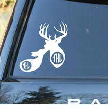 Couples Monogram Decal | Buck And Doe Monogram Decal | Decals For ... Kc Vinyl Decals Graphics Signs Banners Custom Nice Buck Browning Deer Hunting Decal Hunter Head With Name Car Commander Sticker Truck Laptop Kayak Etc Family Vinyl Sticker Decal Car Window Decalkits Oh Mrigin Waterfowl For Trucksfunny Trucks For Bigbucklife At Superb We Specialize In Decalsgraphics And Whitetail Buck Hunting Truck Graphic