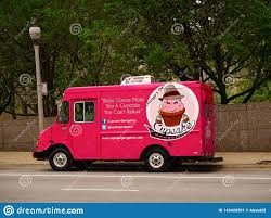100 Chicago Food Trucks Illinois USA Truck At The Street Of