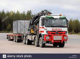 Crane Truck Mounted Boom Stock Photos & Crane Truck Mounted Boom ...