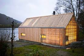 100 Boathouse Architecture Old Norwegian Boathouse Revamped As A Glowing Summer House