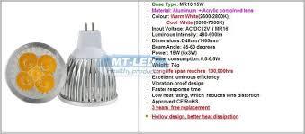 10pcs lot dimmable lada led 9w 12w 15w led l mr16 12v led