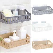 details zu badezimmer küche regal saugnapf rack organizer aufbewahrung dusche wand korb
