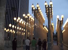 Urban Light By Chris Burden at LACMA
