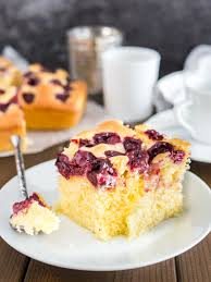 Easy Cherry Cake Recipe from Scratch