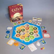 Catan 5th Ed Board