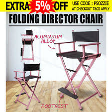 Lightweight Aluminum Directors Chair by Directors Chair Outdoor Chairs Ebay