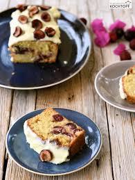 kastenkuchen mit kirschen weisser schokolade 1x umrühren