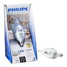 philips 3 5 watt 25 watt ba11 soft white 2700k decorative