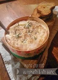 et découvrit la cuisine mont d or rôti au romarin et