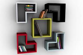 wall decor ideas decorative wall bookshelves floating wall