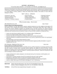Resume Objective Statements Of Dedicated Human Resources Representative With Professional History In Aerospace And Education As Master