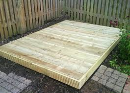 shed base design your own garden shed plans five concepts to