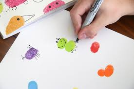 Fingerprint Art Is So Much Fun Its An Easy Activity For Kids Of All Ages