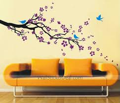 Decorative Wall Sticker Plum Blossom With Birds Wallstickerdeal Decoration