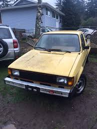 Vw Rabbit Pickup 1981 | Garage Amino