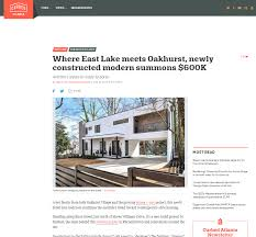 100 Atlanta Contemporary Homes For Sale Our Sleek New Modern Build Gets Picked Up By Curbed