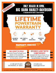 Warrantyforever | Big Barn Harley-Davidson® | Des Moines Iowa Cycletradercom Motorcycle Sales Harleydavidson Honda Yamaha Iowa Motorcycles For Sale Harley Davidson New Mens Xl Shirt Mercari Buy Sell Foh Big Barn Des Moines Holiday Specials Best 25 Davidson Dealers Ideas On Pinterest 8 More Dealerships You Have To Visit Before Die Hdforums Low Rider S All Used Trikes Near Kansas City Mo Republicans Gather Ride And Eat Hogs In La Times Cimg4350jpg Bourbon Street Orleans Travel