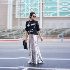 online get cheap sequin skirt long aliexpress com alibaba group