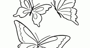 Elegant In Addition To Interesting Butterfly Printable Coloring Pages Regarding Encourage Page