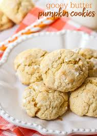 Pumpkin And Cake Mix Dessert by Gooey Butter Pumpkin Cookies Lil U0027 Luna